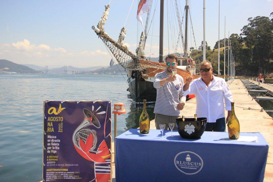 Bluscus e Marqués de Vizhoja organizan unha nova tempada de Agosto na Ría.