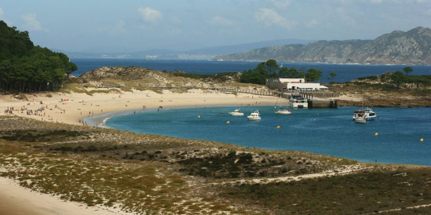 Praia de Rodas, nas Illas Cíes